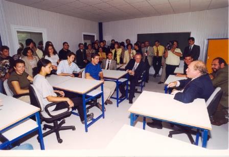 Συνάντηση του κου Υπουργού με τους πρώτους φοιτητές στο Αργοστόλι