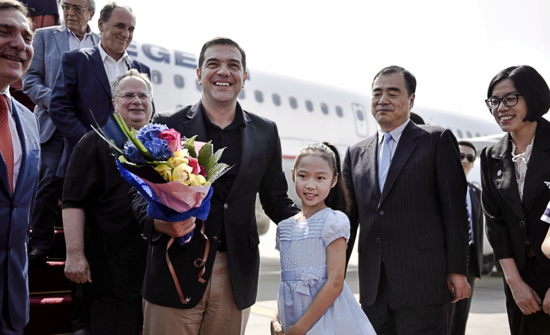 Πεκίνο επίσκεψη Ελληνα Πρωθυπουργού. Φώτο eurokinissi