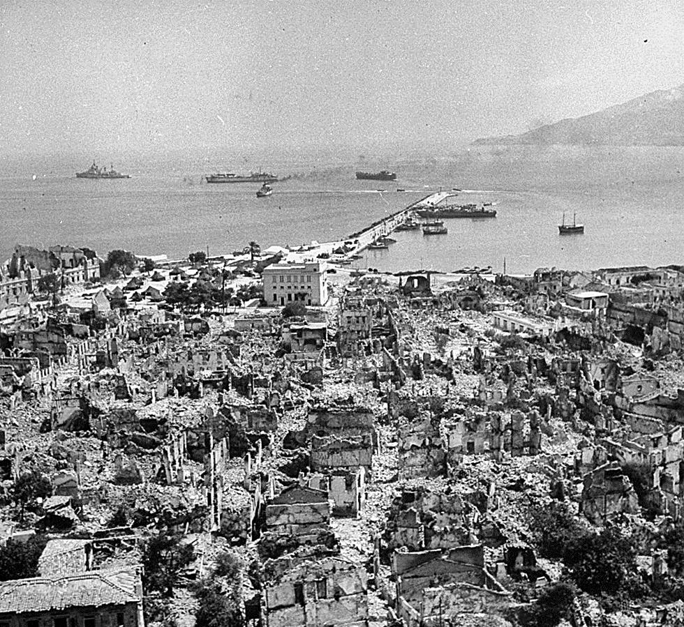 seismoi 1953 1 - 8 σπάνιες φωτογραφίες από τον σεισμό της 12ης Αυγούστου 1953 στη Ζάκυνθο