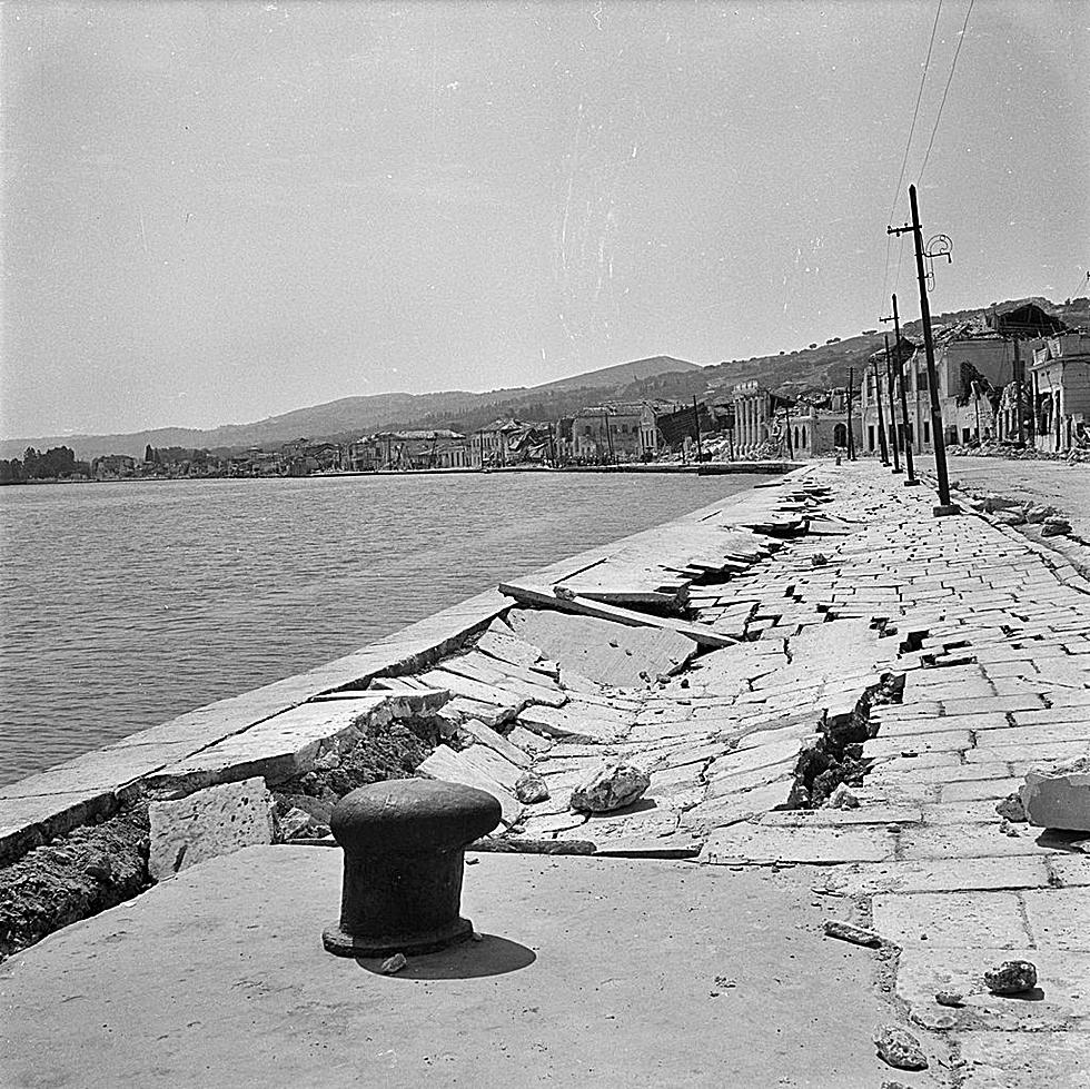 seismoi 1953 5 - 8 σπάνιες φωτογραφίες από τον σεισμό της 12ης Αυγούστου 1953 στη Ζάκυνθο